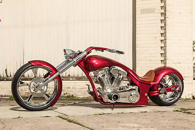 2018 Custom Built Motorcycles Chopper  Limited Edition Pro-Street, Custom Harley, factory title, NADA listed