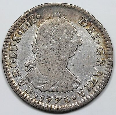 1775-Mo FM Mexico One Real, Charles III, F+