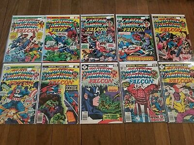 """Marvel Comics Captain America and The Falcon Jack """"The King"""" Kirby Story & Art!!"""