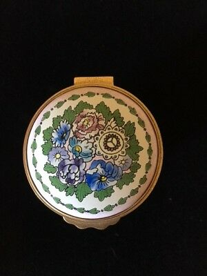 """""""Kingsley Enamel"""" worchestershire england hand painted collectible"""