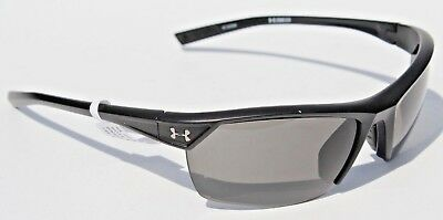 c3f15c35071 UNDER ARMOUR Zone 2.0 Sunglasses Satin Black Gray NEW Sport Cycle  90