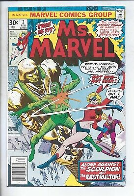 Ms.  Marvel  #2   (  Fn-  )  The First And Best Series  Captain Marvel