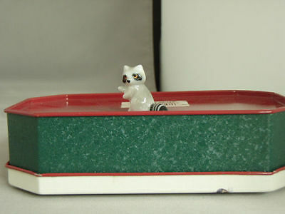 Vintage Bug House Standing Raccoon with label