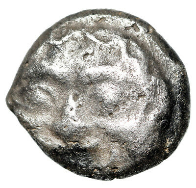 VERY OLD GREEK COIN Silver AR Drachm of Parion in Mysia Circa 5th Century BC