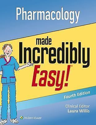 Incredibly Easy! Series®: Pharmacology Made Incredibly Easy (E-B00K)