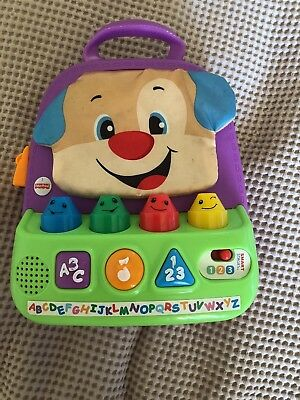 Fisher Price Musical Backpack Toy