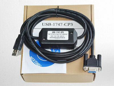 USB-1747-CP3 PLC Programming Cable USB to RS232 For Allen Bradley SLC-03/04/05