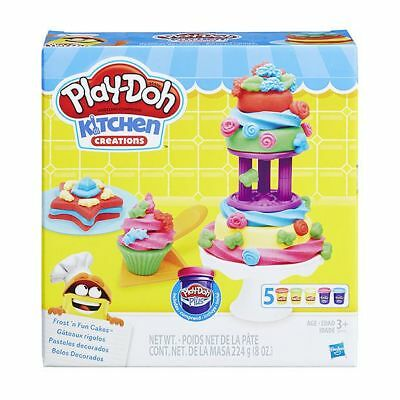 NEW Play-Doh Kitchen Creations Frost 'N Fun Cakes