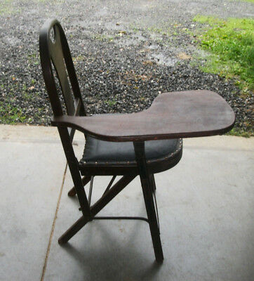 Vintage folding chair called, THE SOLID KUMFORT FOLDING CHAIR, LOUIS RASTETTER