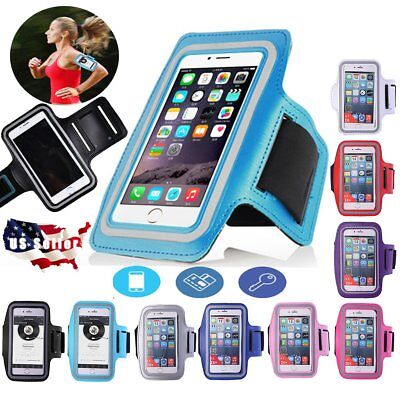 Sport Armband Case Gym Runing Arm Band Pouch Phone Holder For iPhoneX 8 6 7 Plus