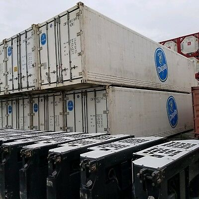 Shipping Containers - Cold Storage refrigerated 40f - 320 Square feet used