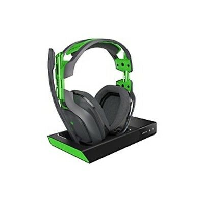 Astro A50 Wireless Headset + Base Station - Stereo - Green, Gray - Wireless -