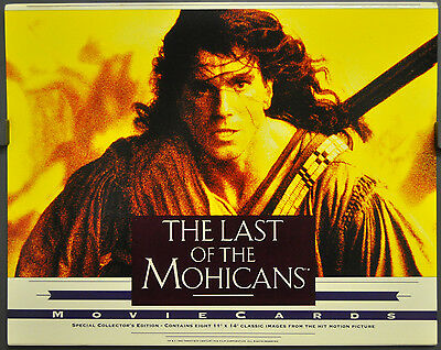 The Last Of The Mohicans 1992 Orig 11X14 Lobby Card Set Daniel Day Lewis
