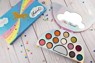 TOO Faced Palette Life's a FESTIVAL Peace, Love & Unicorns Eyeshadow AUTHENTIC