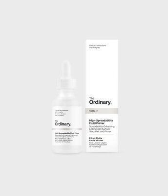 The Ordinary  High-Spreadability Fluid Primer 30ml Authentic NEW In box