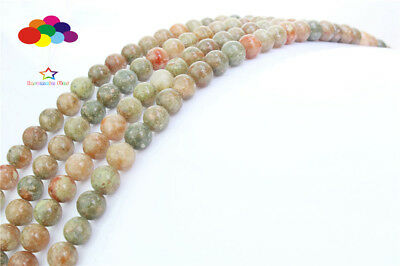 Loose Charm 4/6/8/10/12mm Natural Agate Gemstone Beads Round Jewelry TRBS098