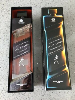 Johnnie Walker Black Label - Blade Runner 2049 - Great Condition  Bottle and Box