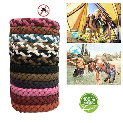 Weave Color Random Decorate Camping Insect Repellent Bands Fashion Handmade