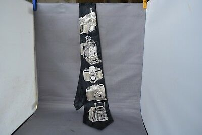 Photographers Camera Tie By A Rogers (Rare)