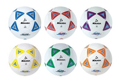 Mikasa Soccer Ball Set, Size 4, Assorted, Set of 6