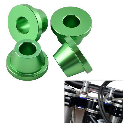 CNC Handle Bar Triple Tree Clamp Mount Bushings for Kawasaki KLX125 150S 150BF