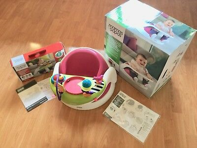 Mamas And Papas Baby Snug Seat with Activity Tray Fabulous Condition