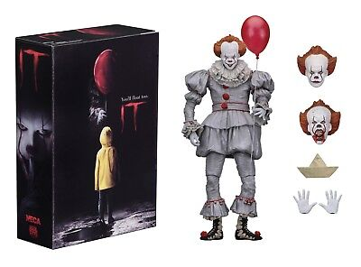 Pennywise IT Action Figure Ultimate Pennywise the Clown Official NECA - In Stock