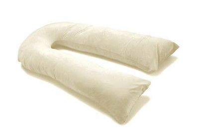10 Ft U Shaped Pillow Case Only Comfort Full Body Maternity Pregnancy Support