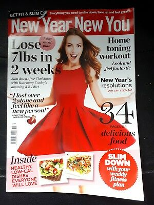 New Year New You (Get Fit & Slim) magazine New year edition 2018