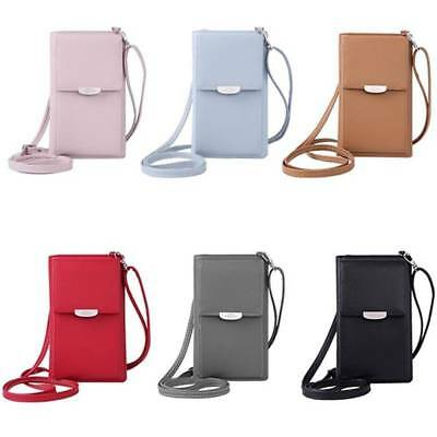 Multi-function Womens Wallet Purse Coin Cell Phone Mini Cross-body Shoulder Bag