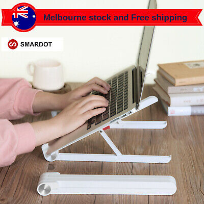 Smardot Portable Aluminium Laptop Stand Tablet Holder Tray Desk for MacBook AU