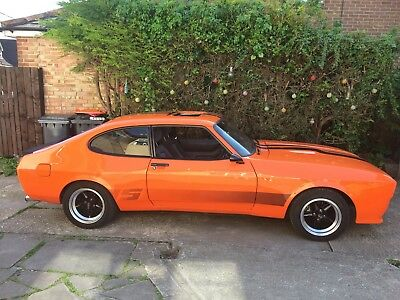 Ford Capri Wide Body X Pack V8 Injection  Mot March 2018