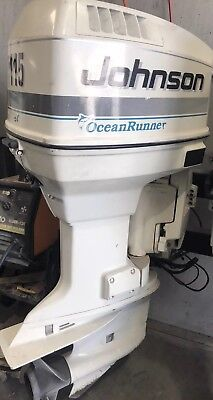 115 HP Johnson/Evinrude Ocean Pro Outboard Motor (Freight Australia Wide)