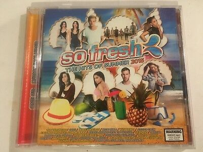 So Fresh The Hits Of Summer 2015 - Cd - Vgc - Various - Free Post
