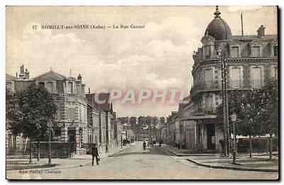 Romilly sur Seine - La Rue Carnot - CPA