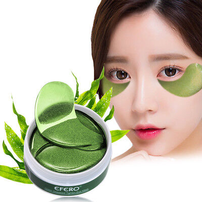 60pc Collagen Crystal Eye Mask Anti Wrinkle Gel Eye Patches Dark Circles Remover