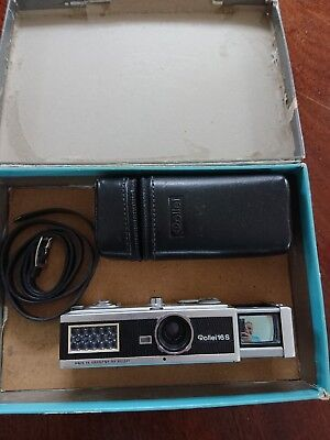 Rollei 16S subminiature camera from MS Hobbies Minox Specialists. With accessory