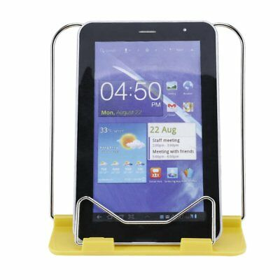 Reading Book Stand Adjustable Angle Document Holder Foldable Book Rack Yellow