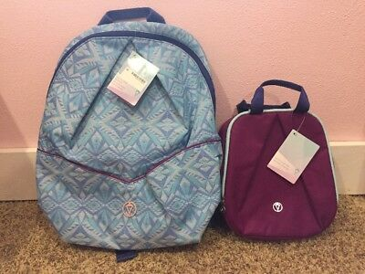 NWT Ivivva By Lululemon Pack For Class Backpack TTRP/SGPE Lunch Bag REGP