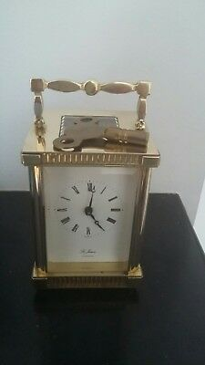 St. Paul 8 Day Carriage Clock In Good Working Order