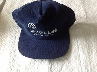 vintage illinois bell ball cap