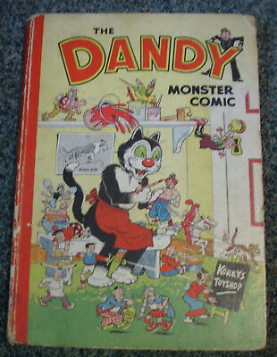 Dandy Monster Comic Book Annual 1952 - Good condition