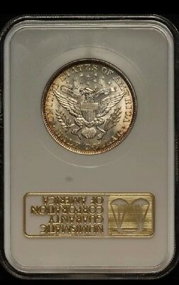 1892 Barber Half Dollar NGC AU58 CAC Old Gold Holder Way Undergraded Beautiful