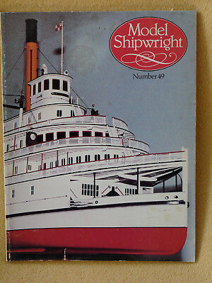 Model Shipwright,Englisches Modellschiff Journal