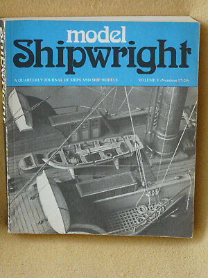 Model Shipwright Englisches Journal