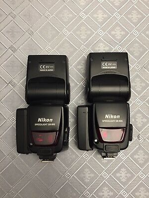 NIKON Speedlight SB-800 FLASH w/xtra Battery Extension (have 2 each seperate)