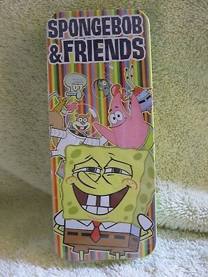 New Sealed Spongebob & Friends Wrist Watch In Tin. Burger King/viacom