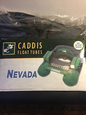 New Caddis U Shape Float Tube with Flippers