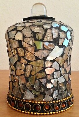 Partylite GLOBAL FUSION Mosaic Peg Light Candle Holder