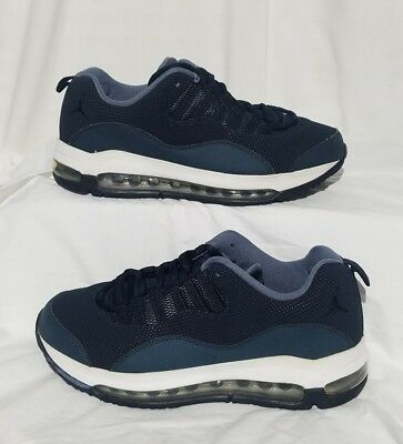NIKE AIR JORDAN COMFORT AIR MAX 10 Boys/Youth White Blue Shoes Size 6.5Y